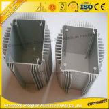 Tipo excelente radiador del peine con el disipador de calor del aluminio de la protuberancia de la ISO 9001
