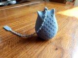 Сыча силикона качества еды сбывания Амазонкы чай Infuser горячего форменный