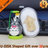 Mecanismo impulsor de madera lindo del flash del USB de la casa para los regalos (YT-8134)