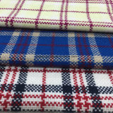 Hilado de la cruz de la tela de las lanas de la verificación del sobretodo