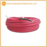 Cable de calentamiento de la chaqueta de color rojo para endurecimiento / protección contra el hielo del hormigón
