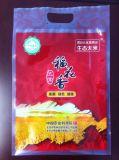 Reis-Kunststoffgehäuse-Beutel mit Griff-Loch