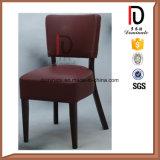 Оптовый современный Brown обедая кожаный стул с мягким валиком