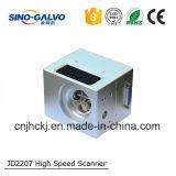 Cabeça do laser da cabeça do Galvo da elevada precisão Jd2207 para o CNC