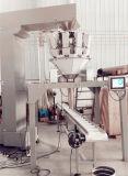Automatisches Tellersegment-/Kasten-/Karton-/Flaschen-/Glas-führendes Verpackungs-System mit Multihead Wäger
