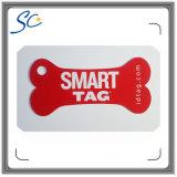 Cartão cortado projeto personalizado do PVC