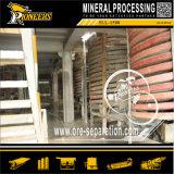 Descendeur spiralé de minerai de zinc de fer de chrome de charbon de Zircon de séparation de densité
