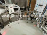 El frasco embotella la máquina que capsula de relleno de Monoblock