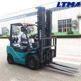 Mini especificación de la carretilla elevadora del LPG de 1.5 toneladas de Ltma