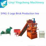 Ligne de production de blocs de verrouillage à argile hydraulique automatique complète