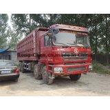 秒針のShacman Delongのダンプカートラック8*4