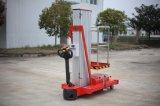 piattaforma di lavoro aereo di alluminio del singolo albero di 6-9m con il certificato del CE