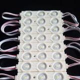 Il LED illumina i segni con l'iniezione dell'ABS