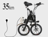Bicicleta eléctrica ligera plegable Bicicleta eléctrica de bolsillo mini