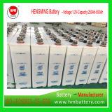 Série da bateria Kpx150/Gnc150 1.2V 150ah Kpx de Hengming NiCd/taxa ultra elevada/bateria recarregável alcalina e bateria de placa aglomerada para começar de motor