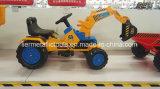 귀여운 마찰 차, 아이를 위한 시멘트 트럭 장난감