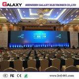 Tablilla de anuncios de alquiler de interior a todo color de LED P3/P4/P5/P6 para la demostración, etapa, conferencia