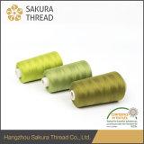 60/3本のOeko-Tex100 1クラスポリエステル縫う糸