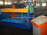 Máquina de friso da folha da telhadura de 1000 metais que curva a telha da máquina que faz a maquinaria