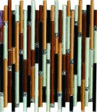 Qualität der Kristallmosaik-Fliese mit ISO9001 (AJJ27C-4)