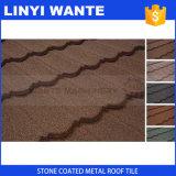 Плитка крыши металла камня цвета Waviness строительных материалов Coated
