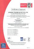 Inconel 718 ha forgiato la barra rotonda con il certificato En10204 2004 3.1