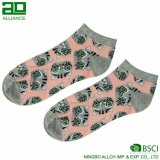 Носки лодыжки изготовленный на заказ женщин хлопка логоса