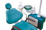 Preiswerter zahnmedizinischer Standardstuhl mit doppeltem Farben-Geräten-Kasten