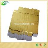 Solución de empaquetado de papel metálica del oro de la cartulina con la talla de encargo (circuito CBM-035)