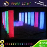 Coluna quadrada do diodo emissor de luz com cores do RGB 16 para a decoração do casamento