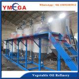 Máquina de refinaria de óleo de soja vegetal que fabrica óleo de alta qualidade