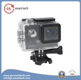 超ジャイロコンパスの反振動機能HD 4k完全なHD 1080 2inch LCDカメラは30mのスポーツの処置のデジタルカメラを防水する