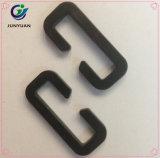 Fabrikmäßig hergestellter Vierecks-Ring-harte Plastikfaltenbildung-Schleife