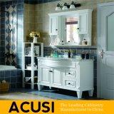 Amerikanische moderne Art-festes Holz-Badezimmer-Großhandelseitelkeit (ACS1-W10)
