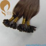 純粋な人間のRemyの毛のケラチンの釘の毛の拡張