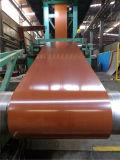 Décorant les graines en bois PPGI a enduit la bobine d'une première couche de peinture en acier, Decotating Mateiral