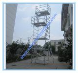 Safe Ce pasó la torre de andamios de aluminio para la decoración