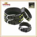 Haustier-Produkt-justierbare reflektierende Haustier-Muffe mit Flausch/Hundehalsring (KC0113)