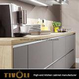 جديدة مطبخ تصميم في أبيض ومقبض تصميم حرّة [تيفو-د0041ه]