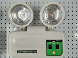 Luz de Emergencia LED Luz de Emergencia de Incendio Lámpara Doble Luz Automática de Sensor Lámpara de Marcador de Emergencia