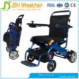 Poids léger se pliant de fauteuil roulant de transport pour la course