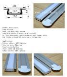 Perfil de alumínio encurralado Recessed do diodo emissor de luz da extrusão da qualidade superior para a tira do diodo emissor de luz
