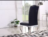 Nouveau Design Colorful PU Leather Metal Dining Chair Furniture