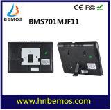 "7 "" видеоий Doorphone опознавания фингерпринта записи HD 1000tvl DVR LCD"