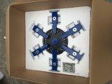 TM-R6 2.14*2.14*1.15 M billig manuelle Drehbildschirm-Drucken-Maschine des Shirt-6-Color mit grellem Trockner