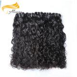 100人間の毛髪の拡張卸売のバージンのブラジルのRemyの毛