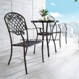 新しいデザインはアルミニウム屋外の家具の鋳造アルミの網をたたくコーヒーテーブルを陽極酸化した