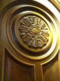 Portello di legno originale di Insterior della villa del Medio Oriente