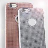 PC ultrafina que irradia la cubierta de la caja del teléfono móvil para el más de Huawei P9 del iPhone 7 con la protección perforada respirable (XSPC-006)