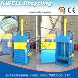 Presse verticale de conformité de la CE/machine en plastique hydraulique de presse/machine de emballage de déchets